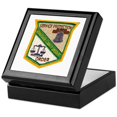 Riverside County Sheriff Keepsake Box