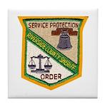 Riverside County Sheriff Tile Coaster