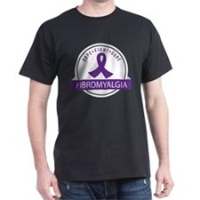 Fibromyalgia Hope Fight Cure T-Shirt