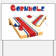 CORNHOLE Yard Sign
