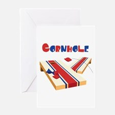 CORNHOLE Greeting Cards