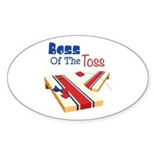 BOSS OF THE TOSS Decal