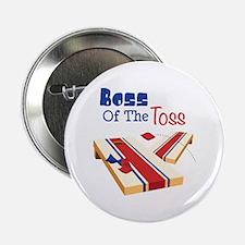 """BOSS OF THE TOSS 2.25"""" Button"""