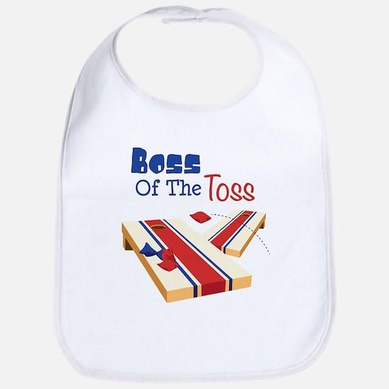BOSS OF THE TOSS Bib