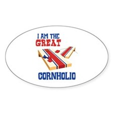 I AM THE GREAT CORNHOLIO Decal