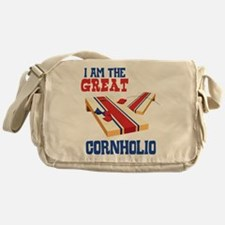 I AM THE GREAT CORNHOLIO Messenger Bag