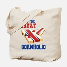 I AM THE GREAT CORNHOLIO Tote Bag