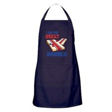 I AM THE GREAT CORNHOLIO Apron (dark)