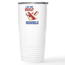 I AM THE GREAT CORNHOLIO Travel Mug