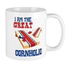 I AM THE GREAT CORNHOLIO Mugs