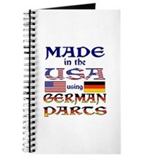 Made in USA German Parts Journal