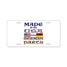 Made in USA German Parts Aluminum License Plate
