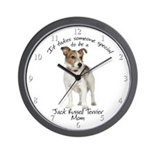 Jack Russell Mom Wall Clock
