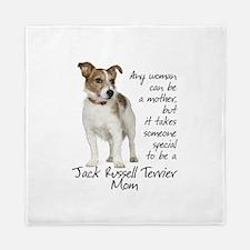 Jack Russell Mom Queen Duvet