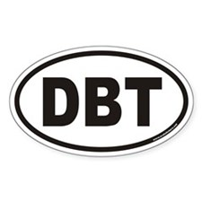 DBT Euro Oval Decal