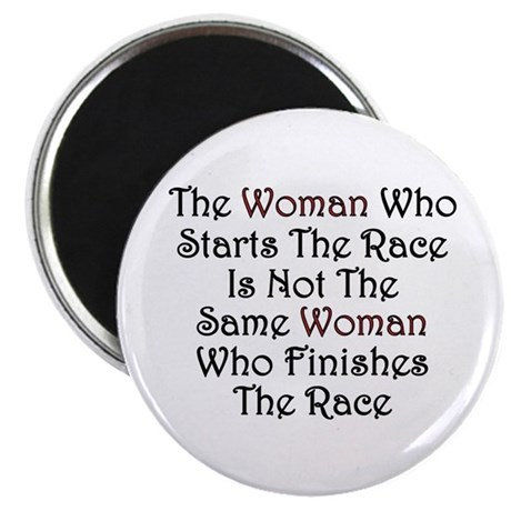 "Woman - Race 2.25"" Magnet (10 pack)"
