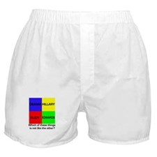 Democrat Which Things Game Boxer Shorts