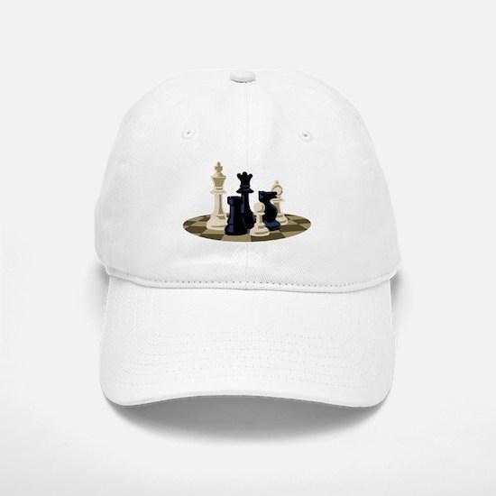 Chess Pieces Game Baseball Baseball Baseball Cap