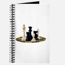 Chess Pieces Game Journal