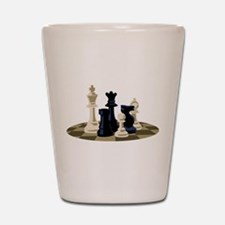 Chess Pieces Game Shot Glass