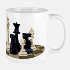 Chess Pieces Game Mugs