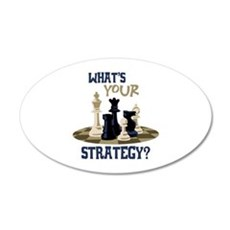 WHATS YOUR STRATEGY? Wall Decal