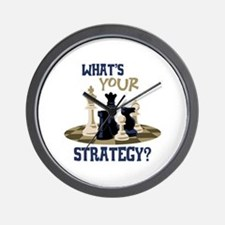 WHATS YOUR STRATEGY? Wall Clock