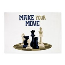MAKE YOUR MOVE 5'x7'Area Rug