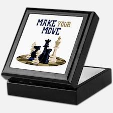 MAKE YOUR MOVE Keepsake Box