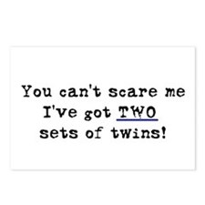 Can't Scare Two Sets Postcards (Package of 8)