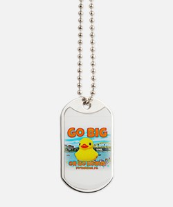 Go Big Duck Dog Tags
