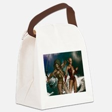 Elves Canvas Lunch Bag