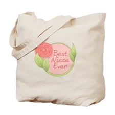 Best Niece Ever-Rose Tote Bag