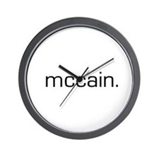 McCain Wall Clock