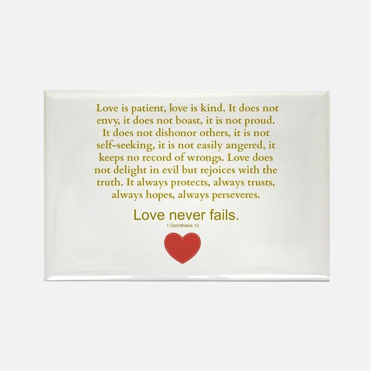 1 Corinthians 13 Magnets