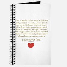 1 Corinthians 13 Journal
