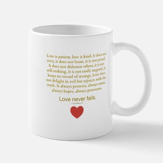 1 Corinthians 13 Mugs