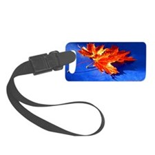 Autumn Fire Luggage Tag
