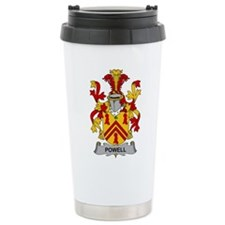 Powell Family Crest Travel Mug