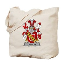 Quigley Family Crest Tote Bag
