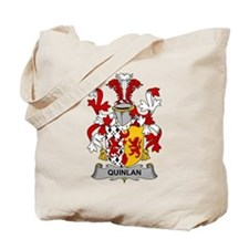 Quinlan Family Crest Tote Bag