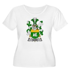 Quinn Family Crest Plus Size T-Shirt