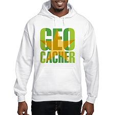 Star Geocacher Green Hoodie