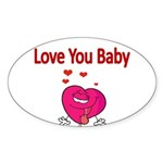 Love You Baby Sticker