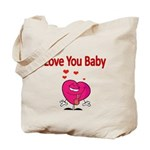 Love You Baby Tote Bag