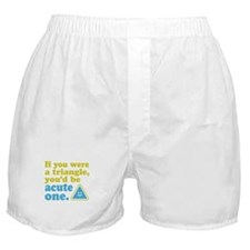 Acute Triangle Boxer Shorts