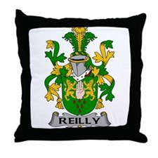 Reilly Family Crest Throw Pillow