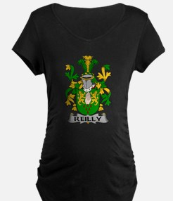 Reilly Family Crest Maternity T-Shirt