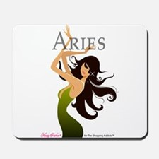 The Shopping Addicts Aries Mousepad