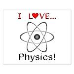 I Love Physics Small Poster
